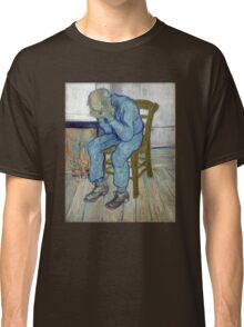 'At Eternity's Gate' by Vincent Van Gogh (Reproduction) Classic T-Shirt
