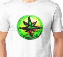 Rasta leaf T-shirt Unisex T-Shirt