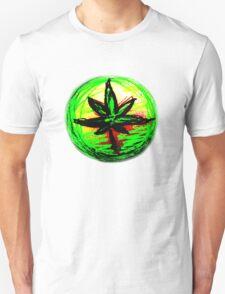 Rasta leaf T-shirt T-Shirt