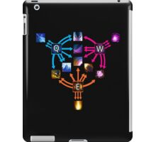 Invoker Cheat Sheet iPad Case/Skin