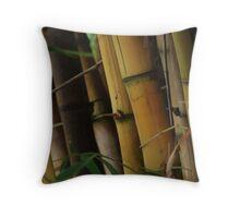 Bamboo Tree Throw Pillow