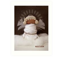 CHUNKIE Guardian Angel Art Print