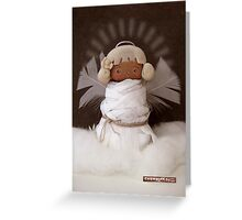 CHUNKIE Guardian Angel Greeting Card