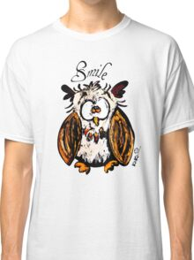 owl and smile  Classic T-Shirt