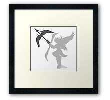 Smash Bros - Pit Framed Print