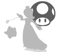 Smash Bros - Rosalina & Luma by Exclamation Innovations