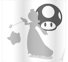 Smash Bros - Rosalina & Luma Poster