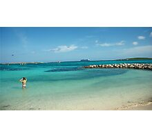 Private Beaches Photographic Print