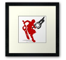 Smash Bros - Shulk Framed Print