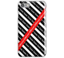 Difference is a blessing not a crime iPhone Case/Skin