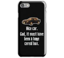 Must have been a huge cereal box iPhone Case/Skin