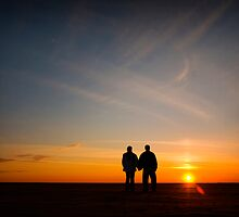Love in the Sunset by RobertScott