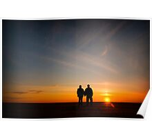 Love in the Sunset Poster