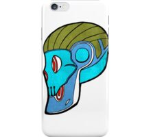 Robot skull iPhone Case/Skin