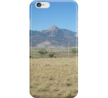 Mountains in Montana iPhone Case/Skin