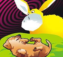 Dot dreams of Banana Goat by Matt Mawson