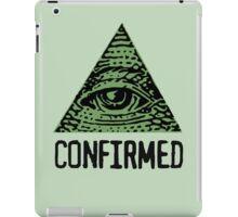 ILLUMINATI CONFIRMED iPad Case/Skin