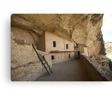 Cliff House Not A Home Canvas Print