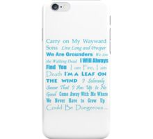 Multi Fandom Anthem 2 iPhone Case/Skin