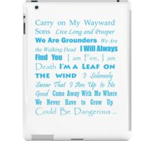 Multi Fandom Anthem 2 iPad Case/Skin