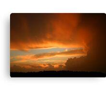 Summertime Sunset Canvas Print