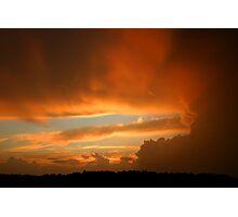 Summertime Sunset Photographic Print