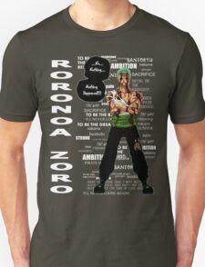 Roronoa Zoro - nothing happened [DARK] T-Shirt