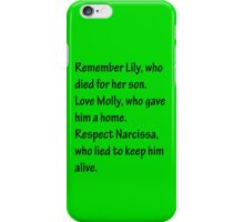 Mothers of Harry Potter iPhone Case/Skin