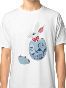 Bunny Inside a Cracked Egg Classic T-Shirt