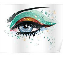 Carnival Eyes Poster