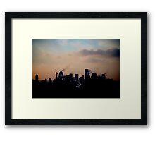 Corporate Horizon Framed Print
