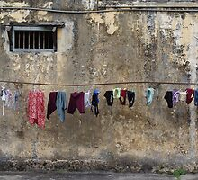 Drying the Washing by contagion