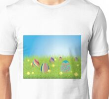 Colored Easter Eggs 2 Unisex T-Shirt