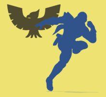 Smash Bros - Captain Falcon Kids Clothes
