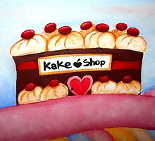 Kake village - Kake shop by lovingkakeart
