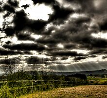 View Over the South Downs by Gareth Holloway