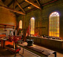 Light Room - State Mining HIstorical Park ,Lithgow NSW - The HDR Experience by Philip Johnson