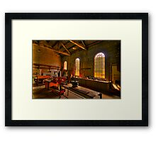 Light Room - State Mining HIstorical Park ,Lithgow NSW - The HDR Experience Framed Print