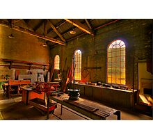 Light Room - State Mining HIstorical Park ,Lithgow NSW - The HDR Experience Photographic Print