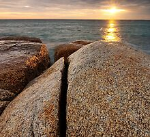 Granite, Bay of Fires, Tasmania by NickMonk