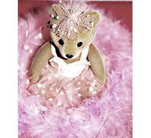 Pink Ballerina Photographic Print