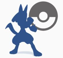 Smash Bros - Lucario Kids Clothes