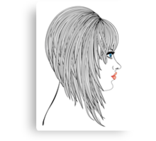 Hair Bob Canvas Print