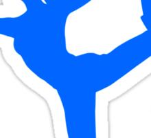 Smash Bros - Wii Fit Trainer Sticker