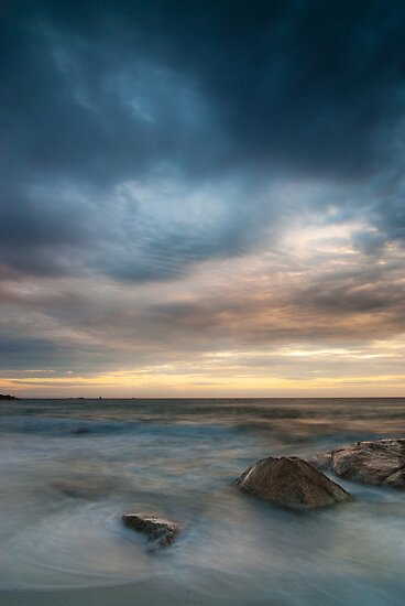 Dawn, Bay of Fires, Tasmania by NickMonk