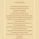 Pet Loss Dog Tribute Poem by offleashart