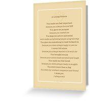 Pet Loss Dog Tribute Poem Greeting Card