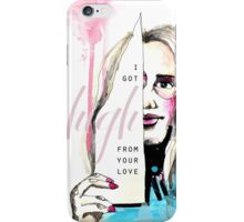 High from your love  iPhone Case/Skin