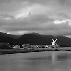 The Irish White Windmill by Thierry Barone