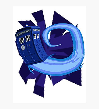 Doctor Who Tardis Photographic Print